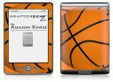 Basketball - Decal Style Skin (fits 4th Gen Kindle with 6inch display and no keyboard)