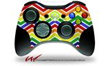 Zig Zag Rainbow - Decal Style Skin fits Microsoft XBOX 360 Wireless Controller (CONTROLLER NOT INCLUDED)