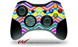 Zig Zag Colors 04 - Decal Style Skin fits Microsoft XBOX 360 Wireless Controller (CONTROLLER NOT INCLUDED)