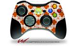 Boxed Burnt Orange - Decal Style Skin fits Microsoft XBOX 360 Wireless Controller (CONTROLLER NOT INCLUDED)