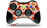 Boxed Red - Decal Style Skin fits Microsoft XBOX 360 Wireless Controller (CONTROLLER NOT INCLUDED)