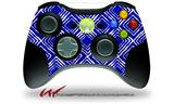 Wavey Royal Blue - Decal Style Skin fits Microsoft XBOX 360 Wireless Controller (CONTROLLER NOT INCLUDED)