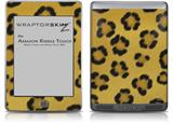 Leopard Skin - Decal Style Skin (fits Amazon Kindle Touch Skin)