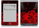 HEX Red - Decal Style Skin (fits Amazon Kindle Touch Skin)
