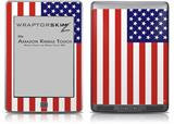 USA American Flag 01 - Decal Style Skin (fits Amazon Kindle Touch Skin)