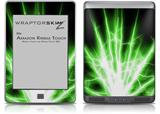Lightning Green - Decal Style Skin (fits Amazon Kindle Touch Skin)