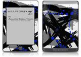 Abstract 02 Blue - Decal Style Skin (fits Amazon Kindle Touch Skin)