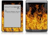 Open Fire - Decal Style Skin (fits Amazon Kindle Touch Skin)