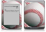 Baseball - Decal Style Skin (fits Amazon Kindle Touch Skin)