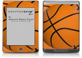 Basketball - Decal Style Skin (fits Amazon Kindle Touch Skin)