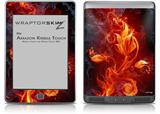 Fire Flower - Decal Style Skin (fits Amazon Kindle Touch Skin)