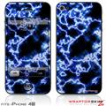 iPhone 4S Skin Electrify Blue