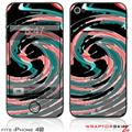 iPhone 4S Skin Alecias Swirl 02