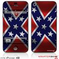 iPhone 4S Skin Confederate Rebel Flag
