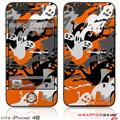 iPhone 4S Skin Halloween Ghosts