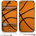 iPhone 4S Skin Basketball