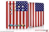 iPad Skin USA American Flag 01 (fits iPad 2 through iPad 4)