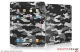 iPad Skin WraptorCamo Digital Camo Gray (fits iPad 2 through iPad 4)