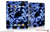 iPad Skin Electrify Blue (fits iPad 2 through iPad 4)