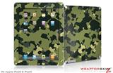 iPad Skin WraptorCamo Old School Camouflage Camo Army (fits iPad 2 through iPad 4)