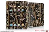 iPad Skin WraptorCamo Grassy Marsh Camo Dark Gray (fits iPad 2 through iPad 4)
