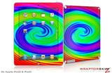 iPad Skin Rainbow Swirl (fits iPad 2 through iPad 4)