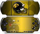 Sony PSP 3000 Decal Style Skin - Iowa Hawkeyes Helmet