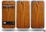 Wood Grain - Oak 01 Decal Style Vinyl Skin - fits Apple iPod Touch 5G (IPOD NOT INCLUDED)