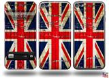 Painted Faded and Cracked Union Jack British Flag Decal Style Vinyl Skin - fits Apple iPod Touch 5G (IPOD NOT INCLUDED)