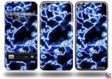 Electrify Blue Decal Style Vinyl Skin - fits Apple iPod Touch 5G (IPOD NOT INCLUDED)