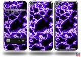 Electrify Purple Decal Style Vinyl Skin - fits Apple iPod Touch 5G (IPOD NOT INCLUDED)