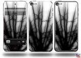 Lightning Black Decal Style Vinyl Skin - fits Apple iPod Touch 5G (IPOD NOT INCLUDED)