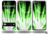 Lightning Green Decal Style Vinyl Skin - fits Apple iPod Touch 5G (IPOD NOT INCLUDED)