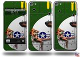 WWII Bomber War Plane Pin Up Girl Decal Style Vinyl Skin - fits Apple iPod Touch 5G (IPOD NOT INCLUDED)