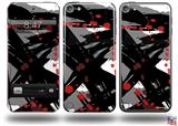 Abstract 02 Red Decal Style Vinyl Skin - fits Apple iPod Touch 5G (IPOD NOT INCLUDED)