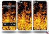 Open Fire Decal Style Vinyl Skin - fits Apple iPod Touch 5G (IPOD NOT INCLUDED)