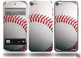 Baseball Decal Style Vinyl Skin - fits Apple iPod Touch 5G (IPOD NOT INCLUDED)