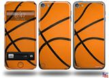 Basketball Decal Style Vinyl Skin - fits Apple iPod Touch 5G (IPOD NOT INCLUDED)