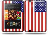 USA American Flag 01 Decal Style Skin fits Amazon Kindle Fire HD 8.9 inch