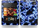 Electrify Blue Decal Style Skin fits Amazon Kindle Fire HD 8.9 inch