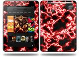 Electrify Red Decal Style Skin fits Amazon Kindle Fire HD 8.9 inch
