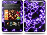 Electrify Purple Decal Style Skin fits Amazon Kindle Fire HD 8.9 inch