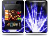 Lightning Blue Decal Style Skin fits Amazon Kindle Fire HD 8.9 inch