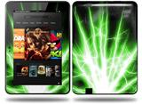 Lightning Green Decal Style Skin fits Amazon Kindle Fire HD 8.9 inch