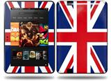 Union Jack 02 Decal Style Skin fits Amazon Kindle Fire HD 8.9 inch