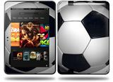 Soccer Ball Decal Style Skin fits Amazon Kindle Fire HD 8.9 inch