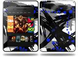 Abstract 02 Blue Decal Style Skin fits Amazon Kindle Fire HD 8.9 inch