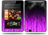 Fire Purple Decal Style Skin fits Amazon Kindle Fire HD 8.9 inch