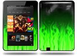 Fire Green Decal Style Skin fits Amazon Kindle Fire HD 8.9 inch