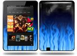 Fire Blue Decal Style Skin fits Amazon Kindle Fire HD 8.9 inch